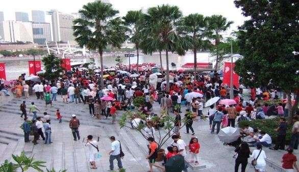 Fest in Singapur