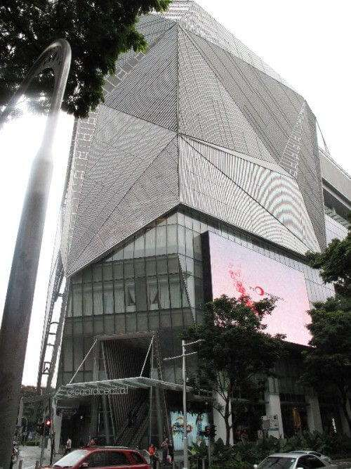 Shopping Mall in der Orchard Road