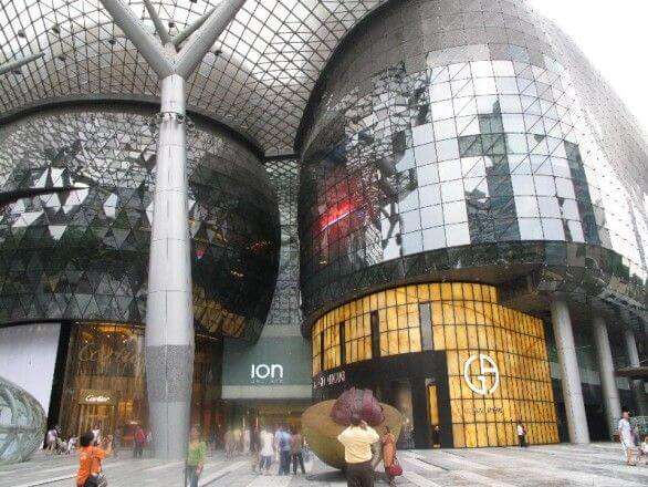 Shoppiing Center auf der Orchard Road
