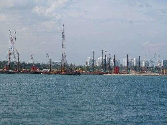 Hafen Sngapur