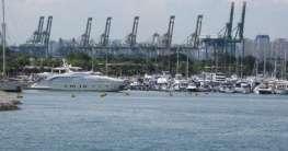 Yachthafen in Singapur