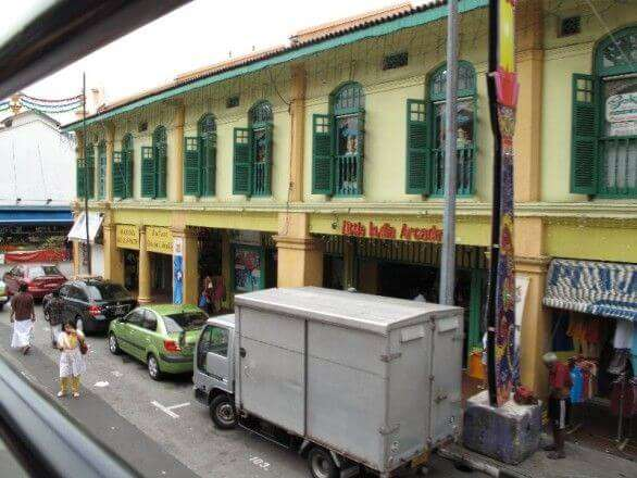 Einkaufsstrasse in Little India