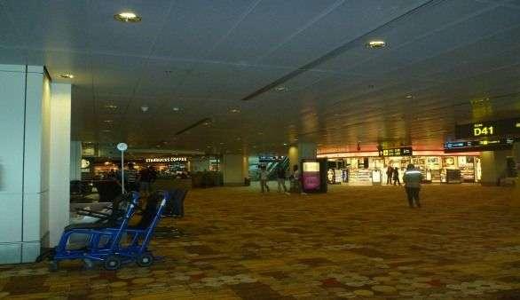 Flughafen in Singapur
