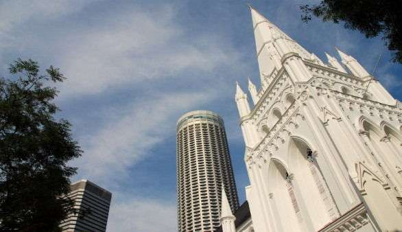 St Andrew's Cathedral in Singapur