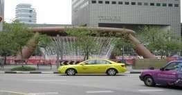 Taxifahren in Singapur