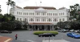 Raffles Hotel in Singapur