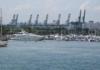 Singapur Hafen